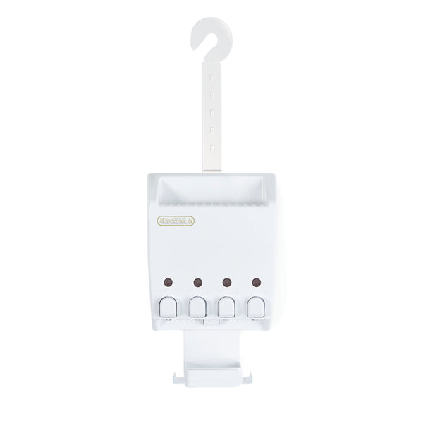 ULTI-MATE Shower Dispenser 4 Chamber Caddy - Better Living Products USA