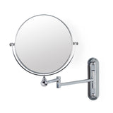 "Vanity Bundle: VALET 8"" Magnifying Mirror; CLARA Foaming Soap Dispenser Medium; STICK N LOCK+ KROMA Toilet Paper/Hand Towel Holder & Hair Dryer Holder - Better Living Products USA"