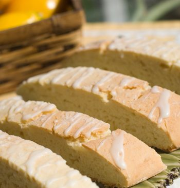 Meyer Lemon Olive Oil & Almond Biscotti