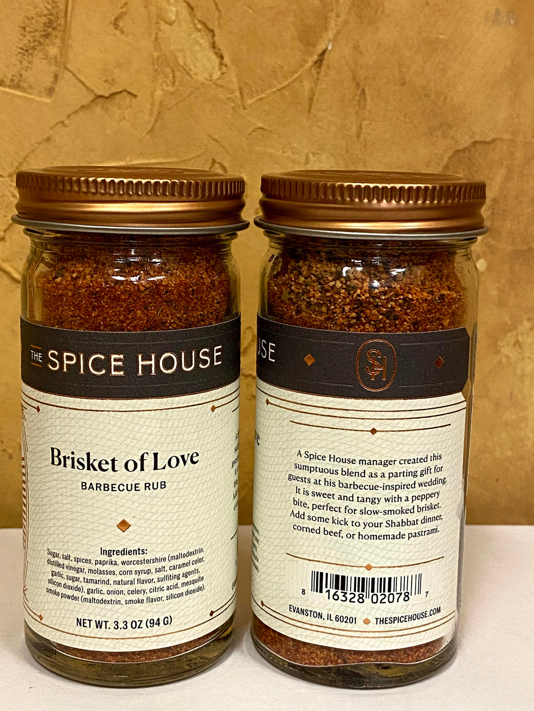 Brisket of Love Barbecue Rub