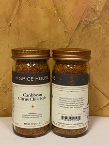 Caribbean Citrus Chile Rub