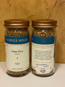 Lime Zest - Minced