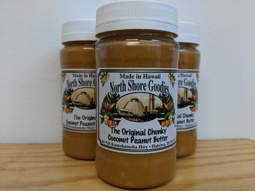 Chunky Coconut Peanut Butter