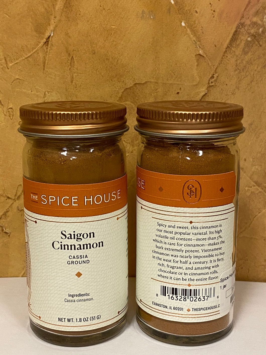 Saigon Cinnamon (Cassia Ground)