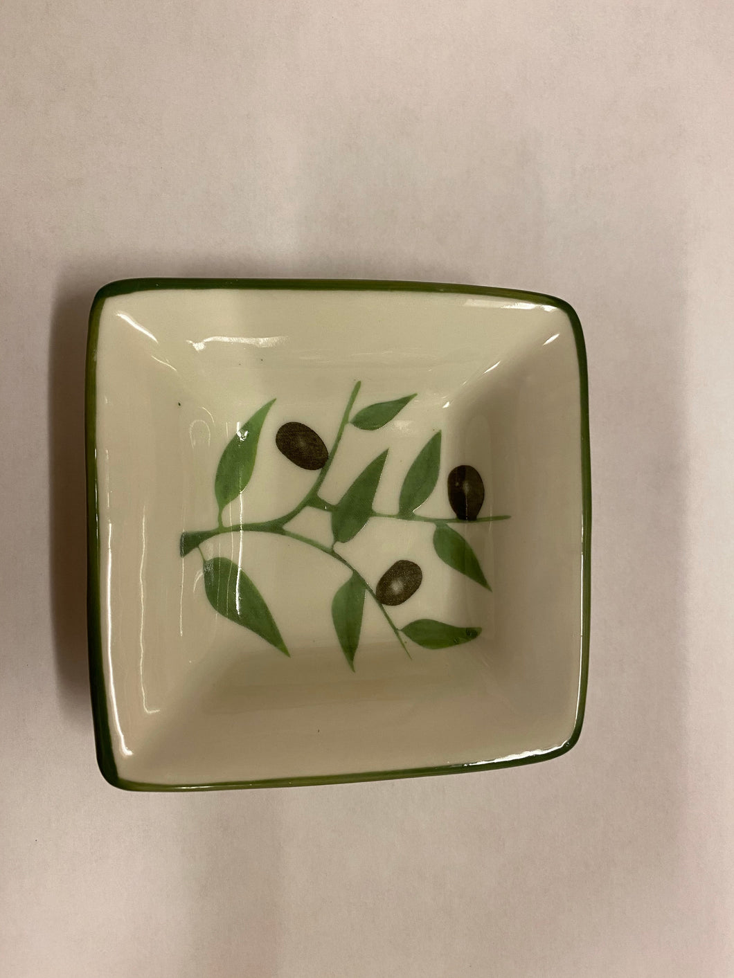 Small Square Bowl Olives
