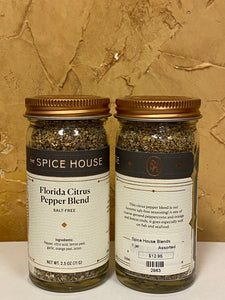 Florida Citrus Pepper Blend (Salt-Free)