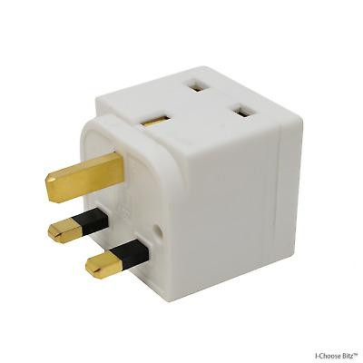 2 Way Mains Adaptor-Mains Electrical-Gigante Computers