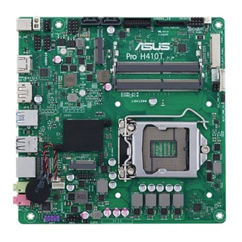 Asus PRO H410T/CSM - Corporate Stable Model, Intel H410, 1200, Thin Mini ITX, DDR4 SO-DIMM, HDMI, DP, LVDS, LPC Header-Motherboards-Gigante Computers