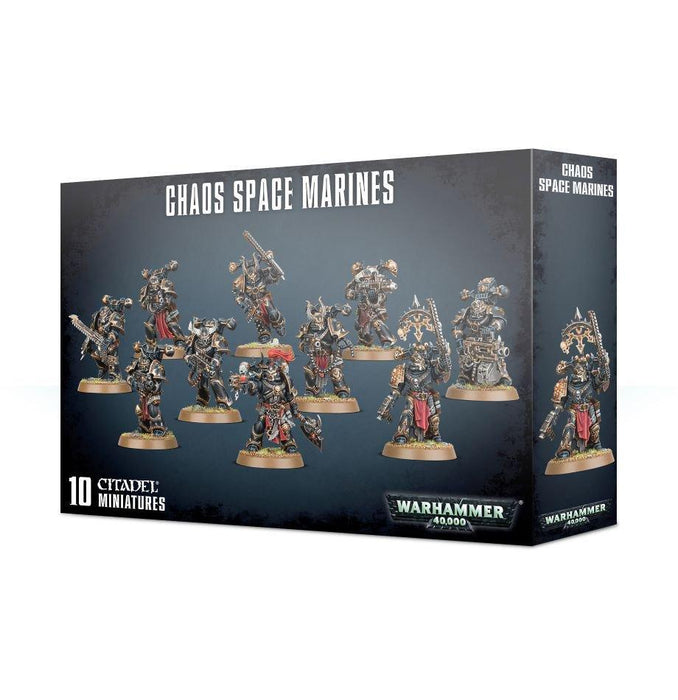 CHAOS SPACE MARINE SQUAD-Boxed Games & Models-Gigante Computers