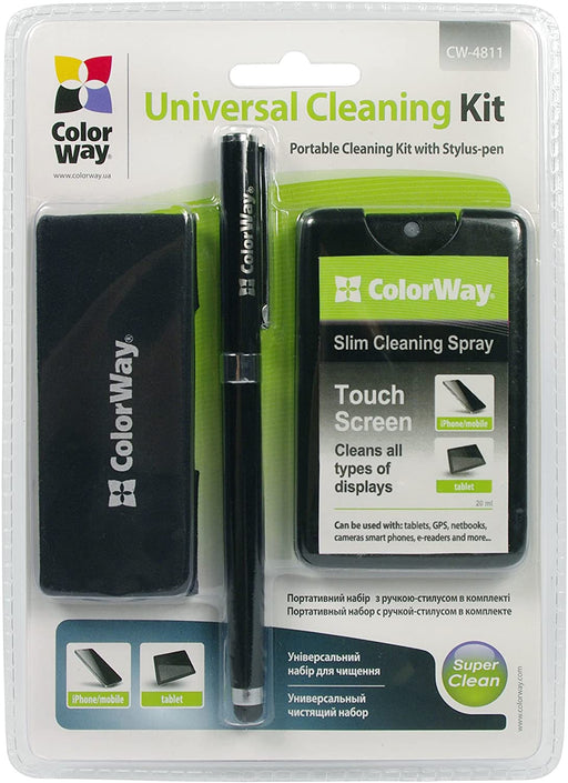 ColorWay Stylus Pen and Cleaning Kit Cw-4811-Cleaning Products-Gigante Computers