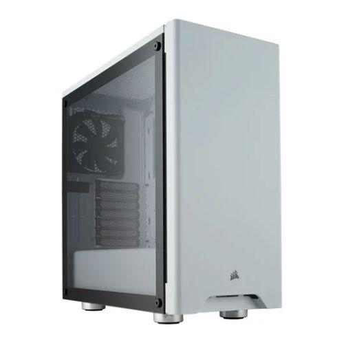 Corsair Carbide Series 275R Gaming Case with Tempered Glass Window, ATX, 2 x 12cm Fans, White-Cases-Gigante Computers