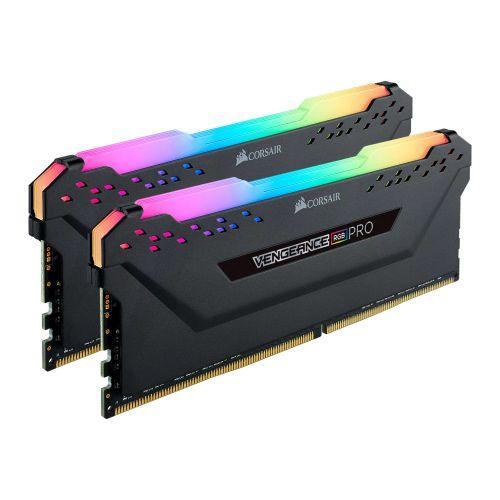 Corsair Vengeance RGB Pro 32GB Kit (2 x 16GB), DDR4, 3200MHz (PC4-25600), CL16, XMP 2.0, Ryzen Optimised, DIMM Memory-System Memory-Gigante Computers