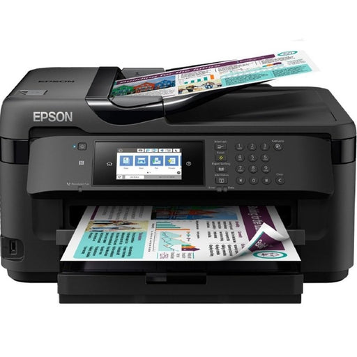 Epson WorkForce WF-7710DWF A3 Colour Wireless All-in-One Inkjet Printer-Multi-function Printers-Gigante Computers