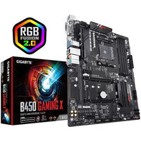 Gigabyte B450 Gaming X AMD Socket AM4 ATX DDR4 DVI-D/HDMI M.2 Motherboard-Motherboards-Gigante Computers