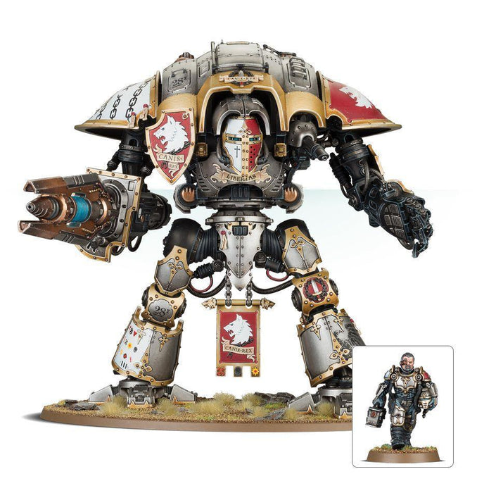 Imperial Knights Knight Preceptor Canis Rex-Boxed Games & Models-Gigante Computers