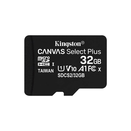 Kingston Canvas Select Plus 32GB Micro SD UHS-I Flash Card No Adapter-Flash Memory-Gigante Computers