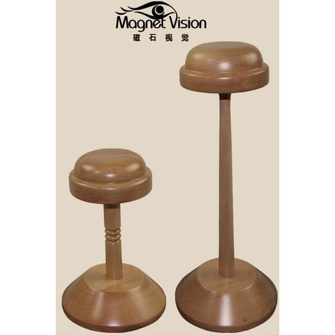 High quantity wood hatrack wig stand