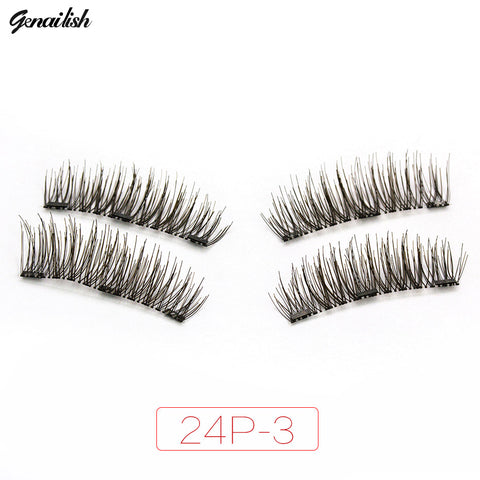 3 Magnet 6D Magnetic Eyelashes