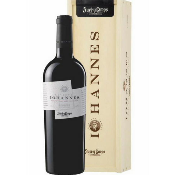 Juvé & Camps - IOHANNES Merlot & Cabernet Sauvignon (Red) in single wooden box