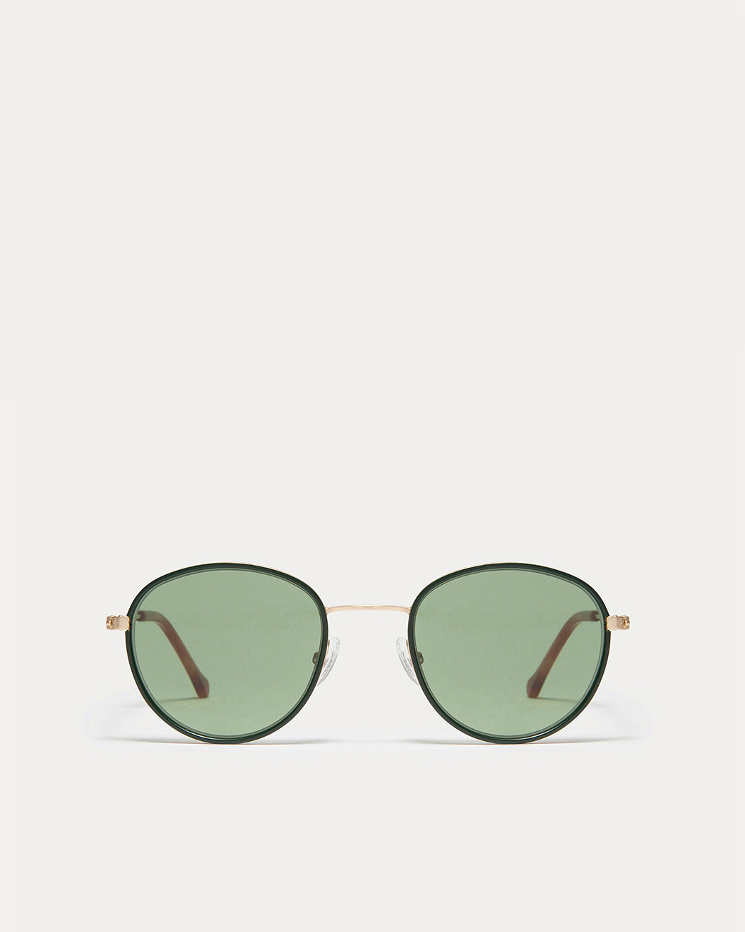 Article One Walsh in Gold | Matte Forest Green