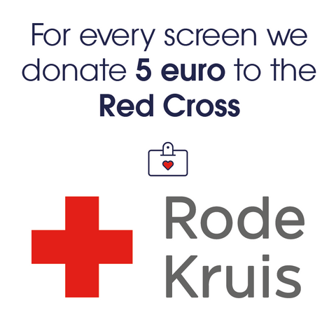 5 euro donation to the Red Cross