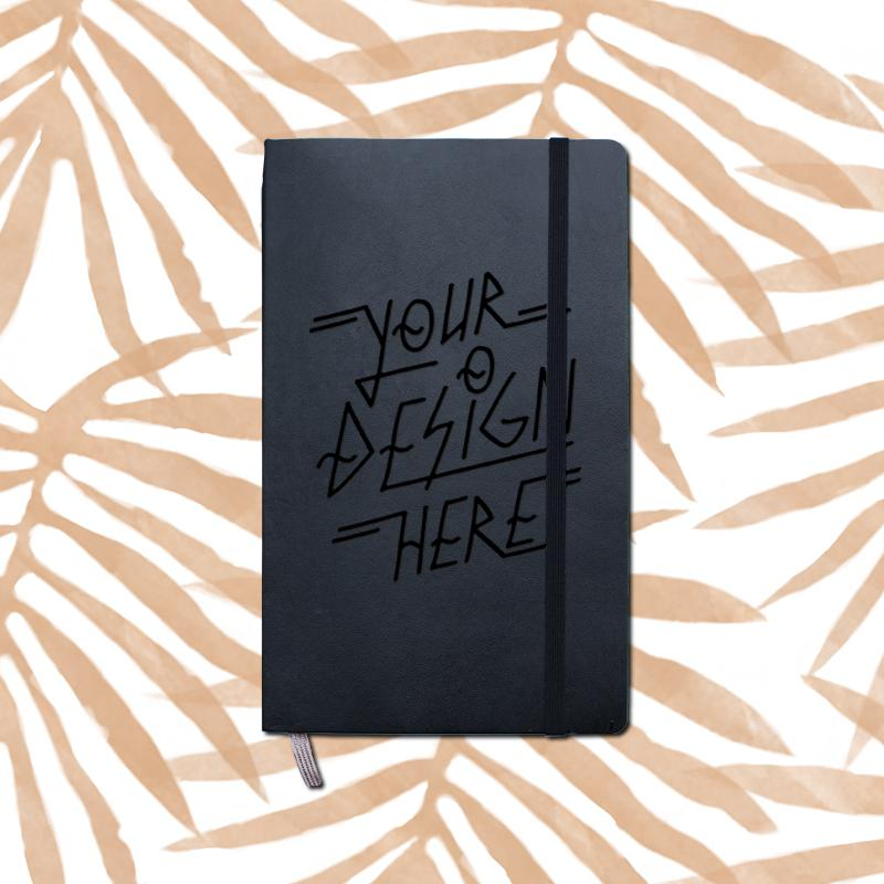 SALE Design your own Moleskine journal Large