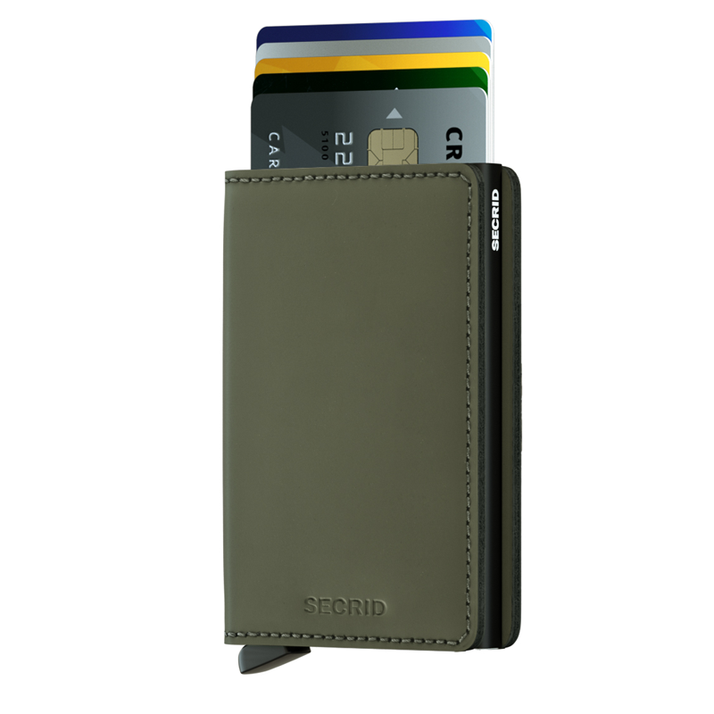 Engrave your own SECRID Slimwallet