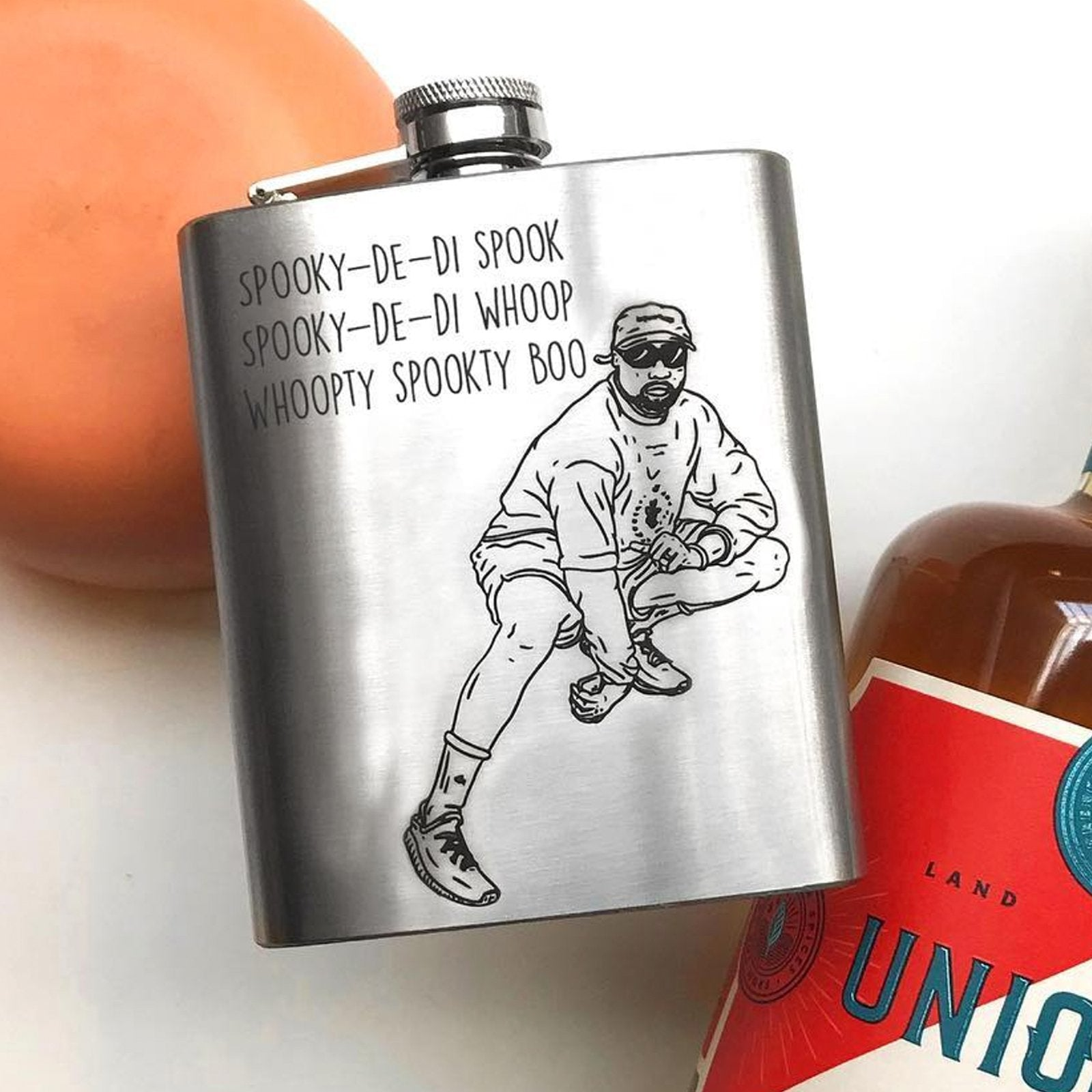 Design your own hip flask