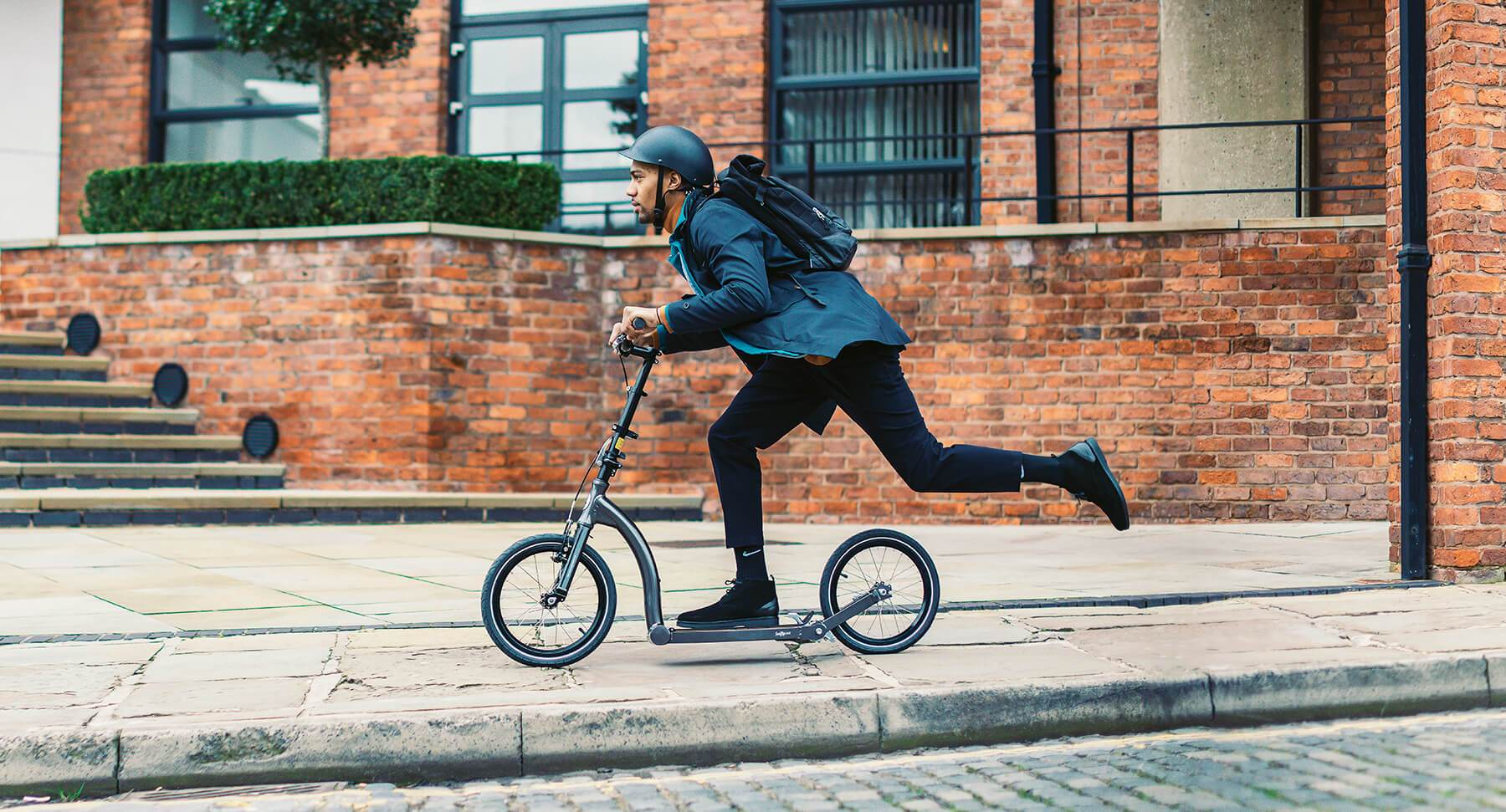 footbike vs kick scooter, what is the difference between a foot bike and a kick scooter