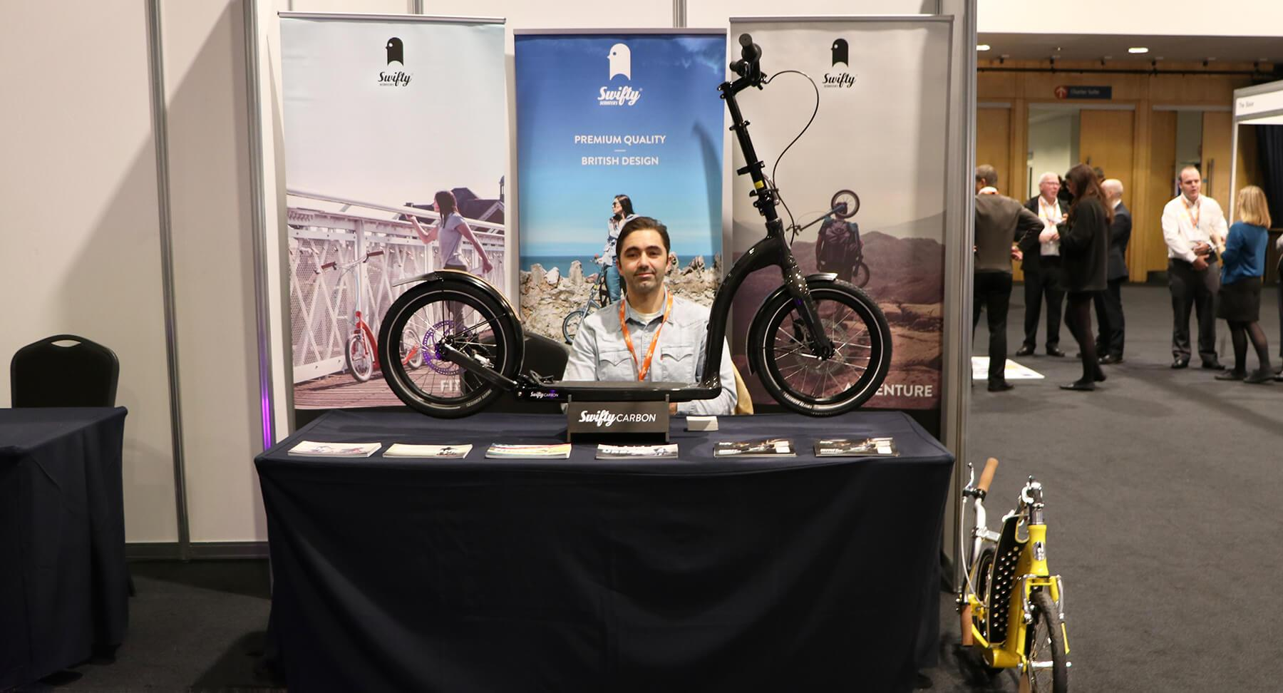 venturefest north west, big wheel adult scooter, folding adult scooter