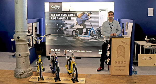 The Future of Micromobility - Swifty Scooters at Autonomy Paris 2019