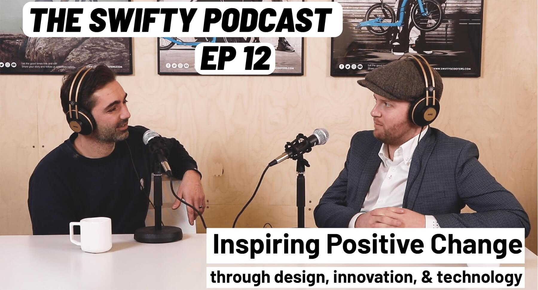 design podcast, positive podcast