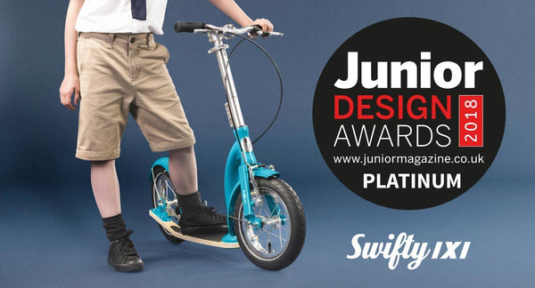 Junior scooter Swifty IXI wins BEST TOY DESIGN AWARD!