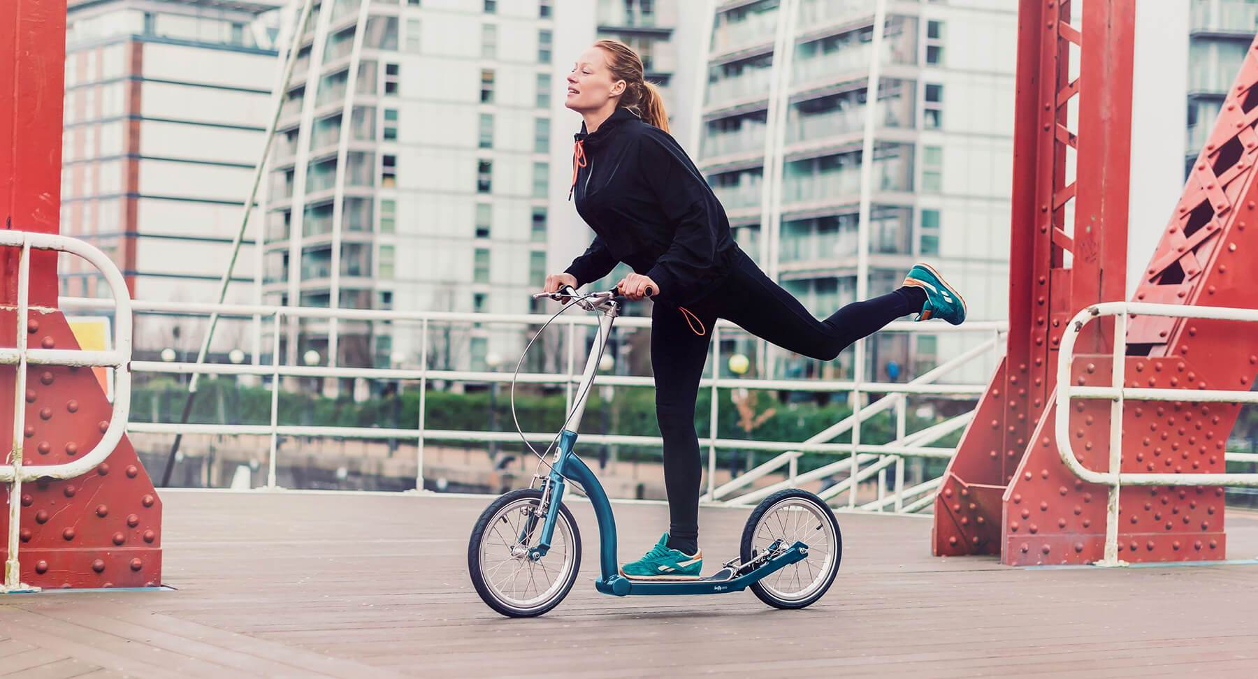 scooter fitness, big wheel adult scooter, kick scooter for adults