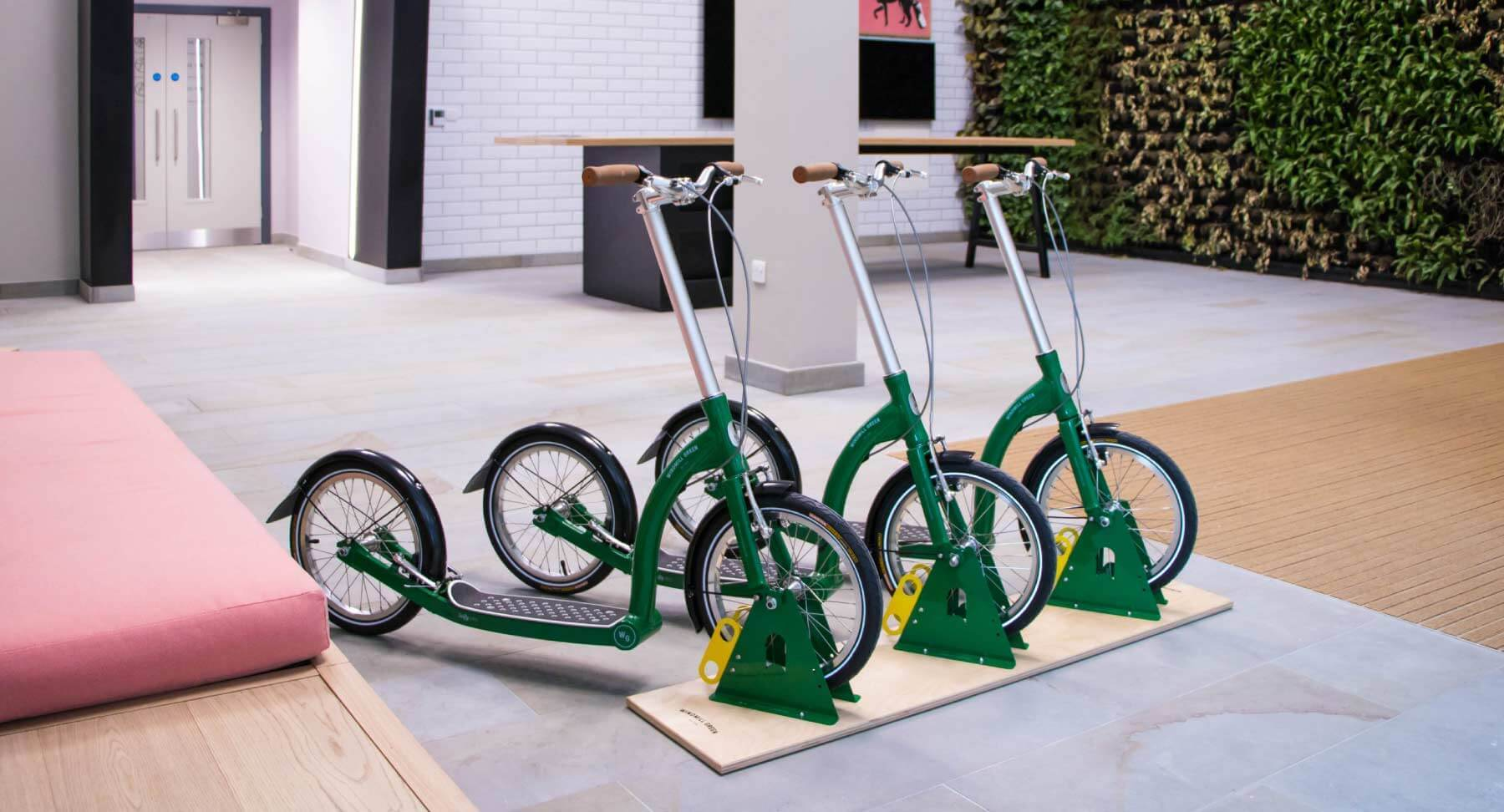 shared scooter fleet for businesses, shared mobility in city centres, up sell for holiday accommodation fleet