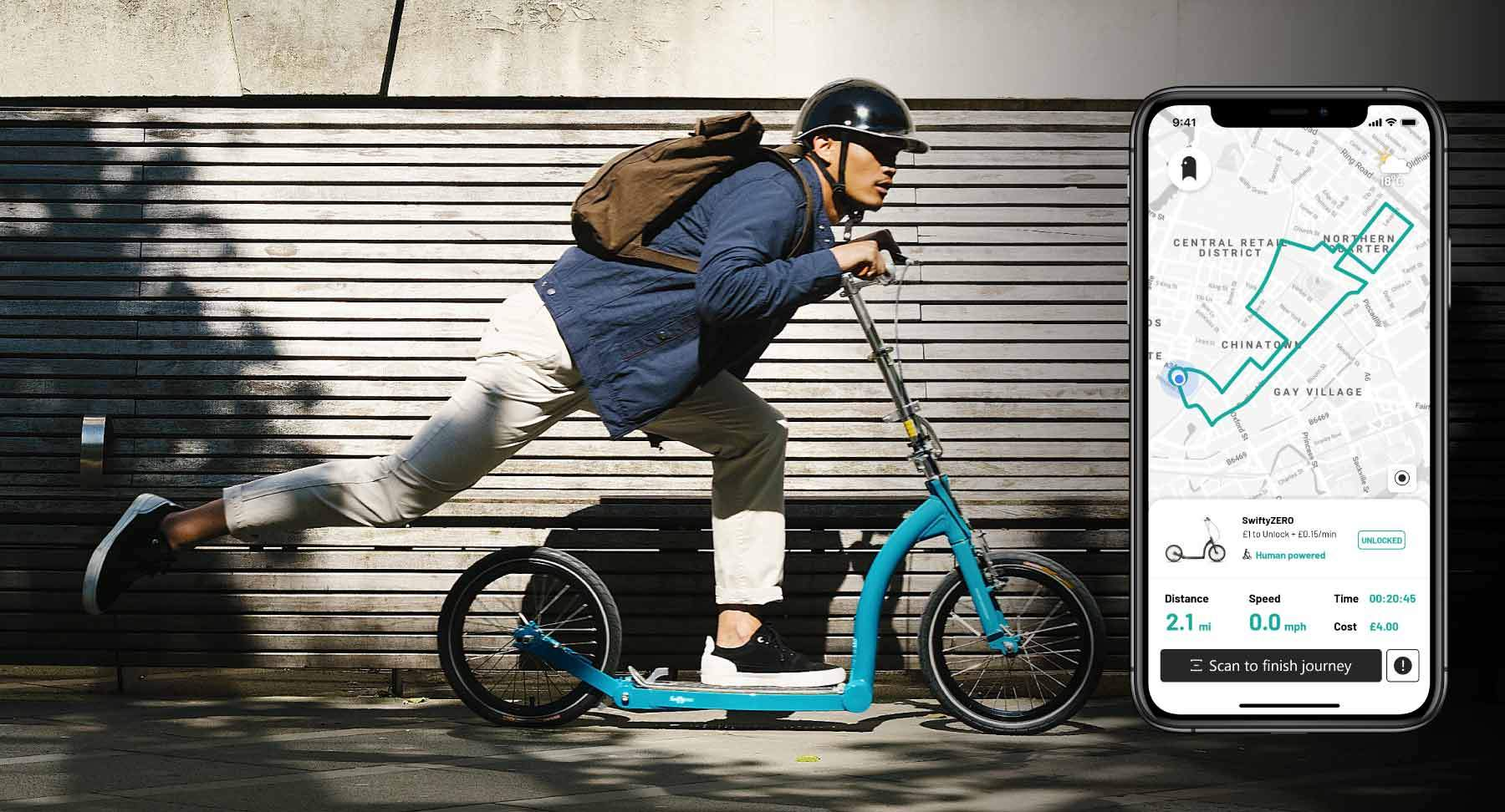 Adult kick scooter crowdfunding