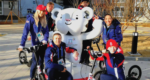 The Swifty Fleet in Pyeong Chang - The Scooter Choice Of Olympians