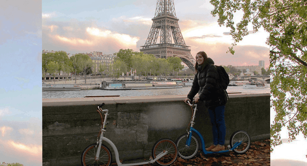 City Break by Kick-Scooter - Travelling with Folding Scooters to Paris
