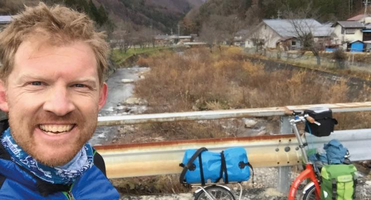 1000 miles solo scoot through Japan with Dave Cornthwaite, long distance scooter for adults