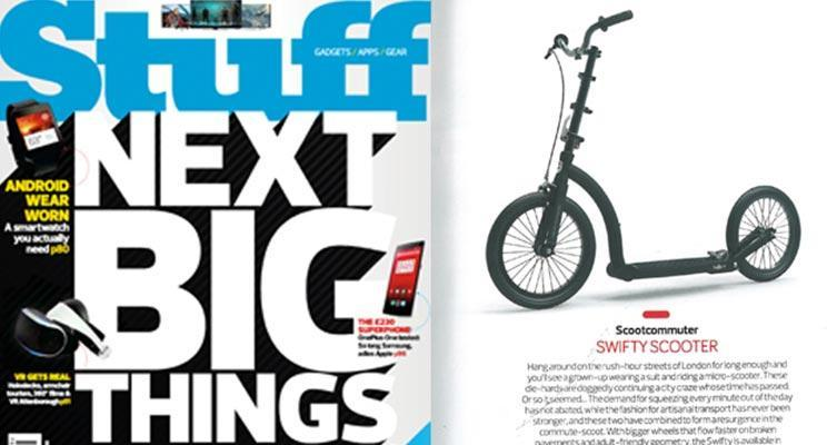 swifty scooters in stuff magazine