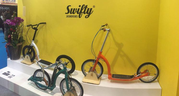 taipei bike show swifty scooters, adult scooters with big wheels uk