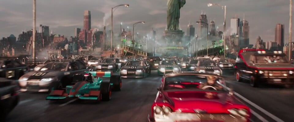 Ready player one transport, cars in ready player one
