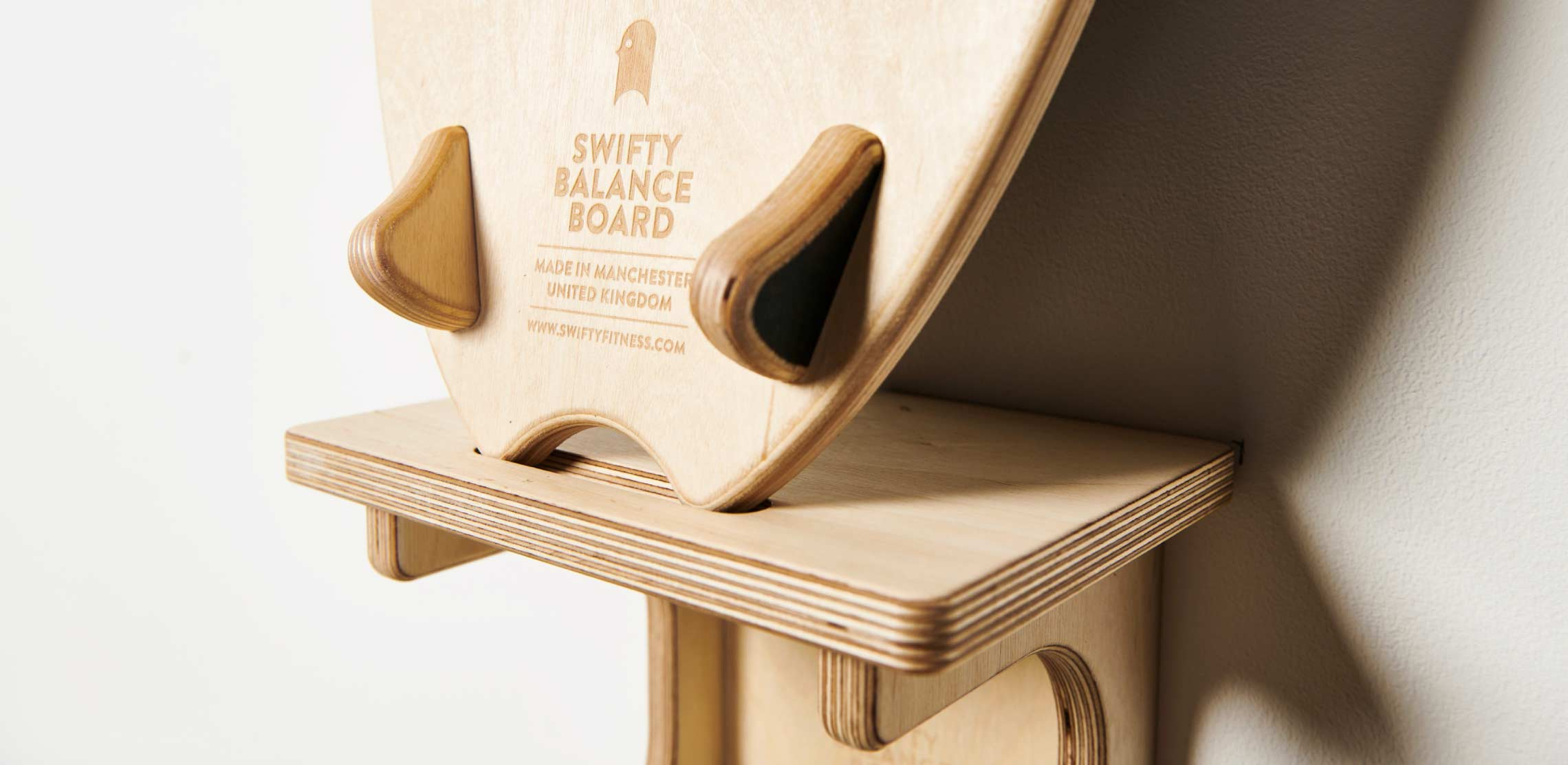 Swifty Balance Board - DISPLAY YOUR BOARD ON THE WALL