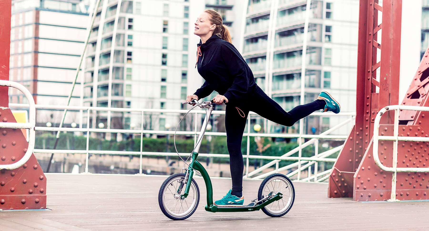 best scooter for commuting, scooters with big wheels, scooter with big wheels