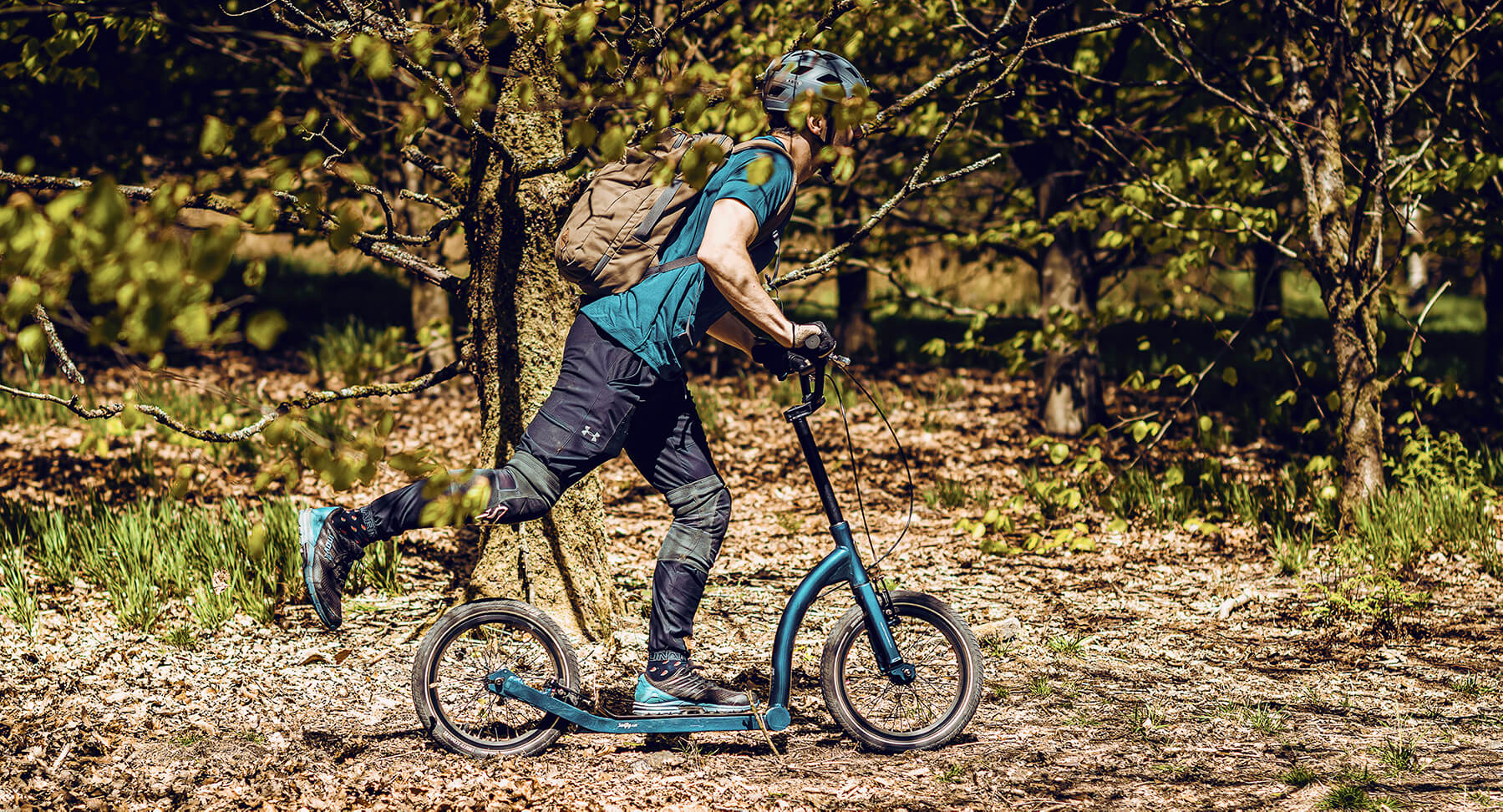 dirt scooter, off road adult scooter