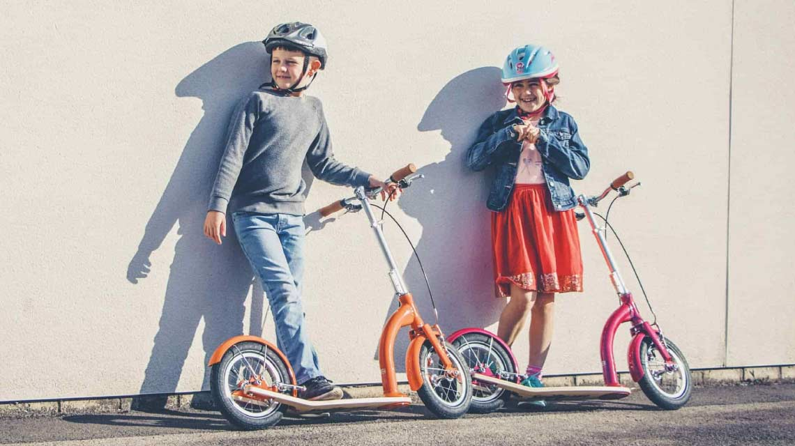 Best ever scooter | award-winning british designed kick-scooters with big wheels | adjustable