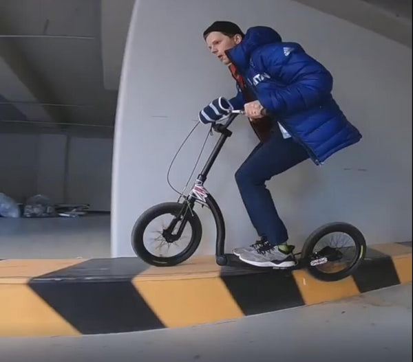 stunt scooter, adult big wheel scooter for fun