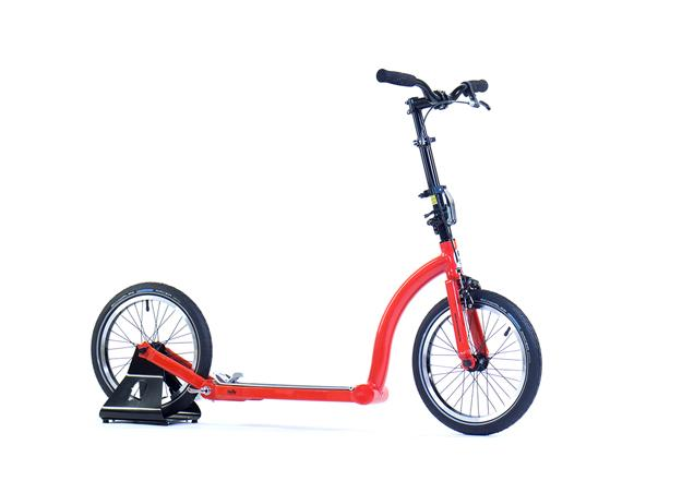 Kirstie Allsopp, adult scooter, scooter with big wheels, customised scooter