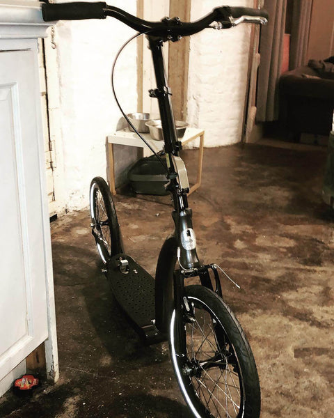 beautician scooter, 16 inch wheel scooter
