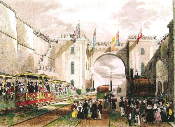 Liverpool and Manchester Railway, famous railways, first railways